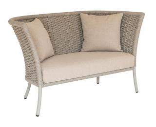 Alexander Rose Cordial Beige Straight Top Lounge Sofa