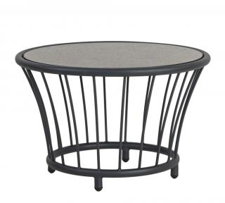 Alexander Rose Cordial Grey Aluminium Side Table