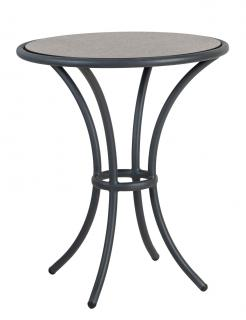 Alexander Rose Cordial Grey Aluminium & HPL Bistro Table