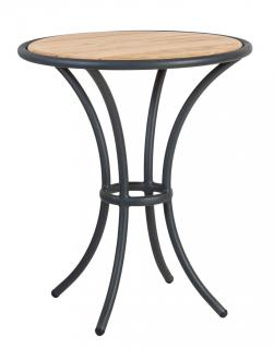 Alexander Rose Cordial Grey Aluminium & Roble Bistro Table