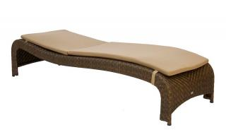 Alexander Rose Sun Lounger Cushion in Oatmeal