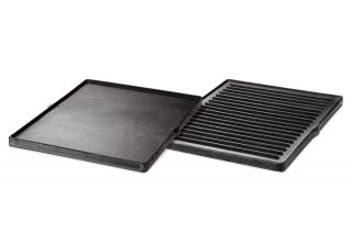 Heavy-duty cast iron griddle, great for an outdoor breakfast. 2013+ models only.
