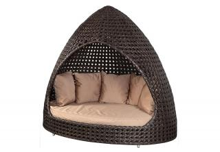 Alexander Rose Ocean Wave Hut with Cushions