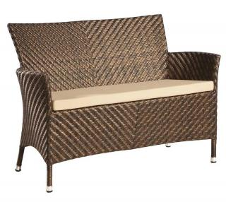 Alexander Rose Code 761B. A maintenance free garden bench with matching cushion.