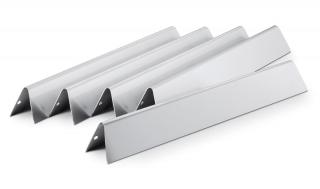 Set of five Stainless Steel Flavorizer Bars for the Weber Genesis gas grills.