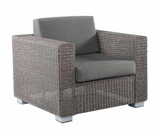 Alexander Rose Monte Carlo Lounge Chair with cushions