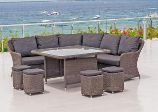 Alexander Rose Monte Carlo Casual Dining Set