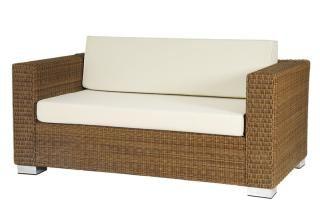 Alexander Rose Code 7804. Deep seated resin weave sofa.