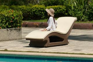 Alexander Rose San Marino Sun Lounger Cushion
