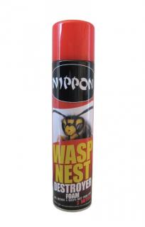 Vitax Wasp Nest Destroyer Foam. Will destroy a wasp nest from a distance of over 3 metres.