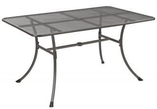 Alexander Rose Code 7958. Powder coated, tubular steel & wire mesh table.