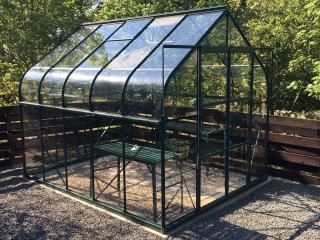 Vitavia Saturn 8300 Greenhouse in Green