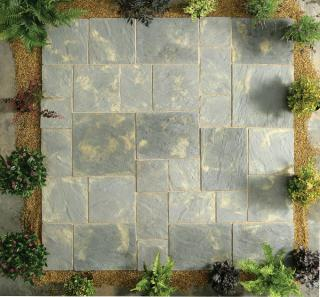 Abbey Paving Antique 5.76sqm Patio Kit