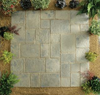 Minster Paving Rustic Sage 5.76sqm Patio Kit