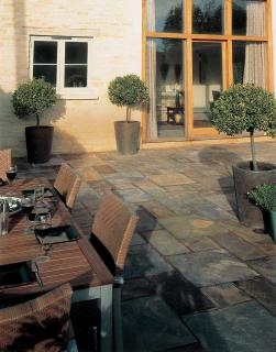 This stunning natural slate will certainly give your garden the wow factor.