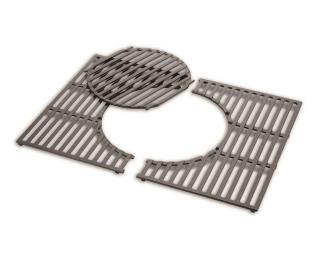 A cast iron cooking grate for the Spirit 3 burner gas grills.
