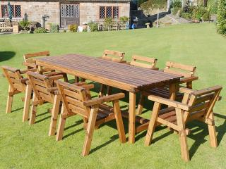 Redwood Eight Seater Garden Patio Set
