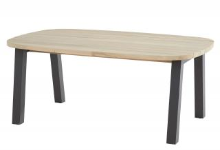 4 Seasons Outdoor Derby Ellipse Teak Top Table 180cm