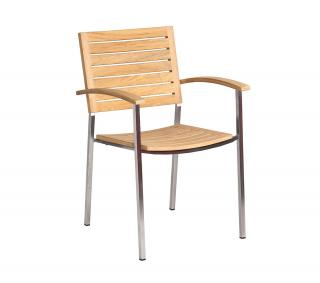 Alexander Rose Roble Stacking Armchair