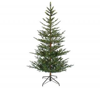 7ft Pre-lit Aspen Fir Life Like Artificial Christmas Tree