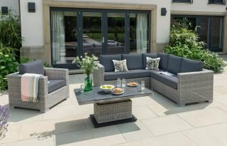 LIFE Outdoor Living Aya Square Corner Set