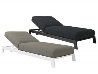 Westminster Arabian Lounger in Charcoal (upper image)