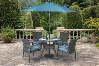 Supremo Athena Round 4 Seater Dining Set