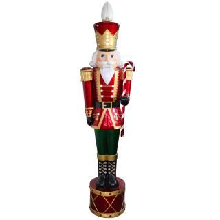 Outdoor 165cm LED Jewelled Nutcracker