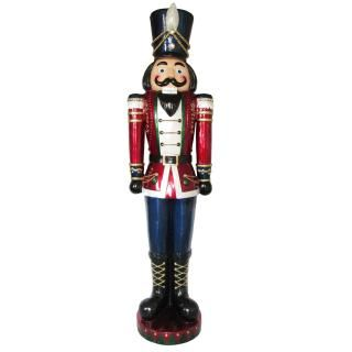 Outdoor 190cm LED Jewelled Nutcracker