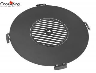 Cook King Grill Plate with Handles & Grate