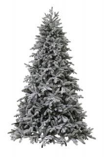 7ft Berkeley Snowy Spruce Life Like Artificial Christmas Tree