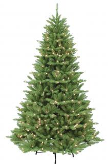 7ft Pre-lit Bluffton Fir Artificial Christmas Tree