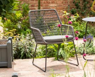 4 Seasons Outdoor Babilonia High Back Dining Chair