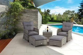 Supremo Barcelona Dual Reclining Lounge Set