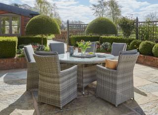 Norfolk Leisure Burnham XL 6 Seat Dining Set