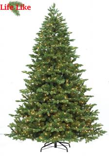 The Chester Spruce 7ft pre-lit tree has PVC & realistic PE branches with a good number of tips & warm white lights. FREE Gift included when you buy online.