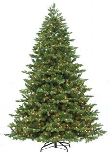 6ft Pre-lit Chester Spruce Life Like Artificial Christmas Tree