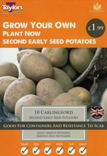 Carlingford Second Early Seed Potatoes