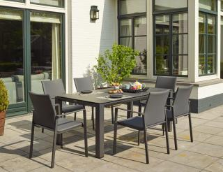 LIFE Outdoor Living Sense Six Seat Dining Set