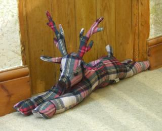 Dora Designs Stag Draught Excluder