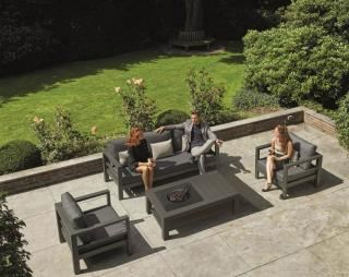 LIFE Outdoor Living Delta Fire Pit Lounge Set