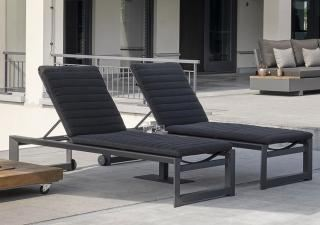 LIFE Outdoor Living Delta High Lounger (single lounger only)