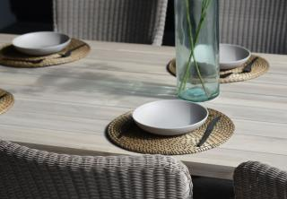 4 Seasons Outdoor Sussex 6 Seat Rectangular Derby Dining Table