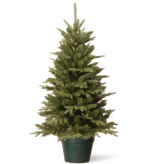 4ft Everyday Collections Potted Feel-Real Artificial Christmas Tree