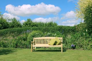 The versatile 6ft Emily Bench would make great seating for gardens and parks.