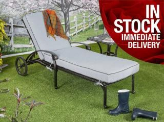 Hartman Florence Lounger in Antique Grey