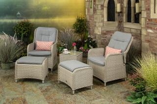 Supremo Genoa Reclining Lounge Set