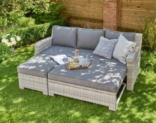 Norfolk Leisure Oxborough Pull Out Lounge Sofa Set