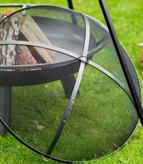 Cook King Fire Bowl Mesh Screen