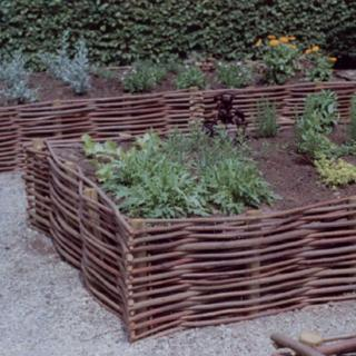This eco friendly Garden Border Edging will be great for sectioning off paths and flowerbeds.